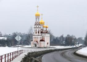 Храм в честь святителя Феофана Затворника